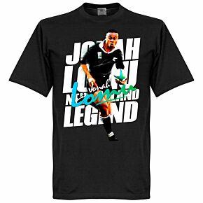 Jonah Lomu Legend Tee - Black