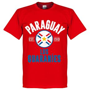 Paraguay Established Tee - Red
