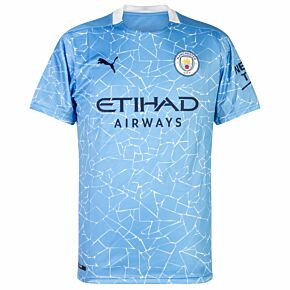 20-21 Man City Home Shirt