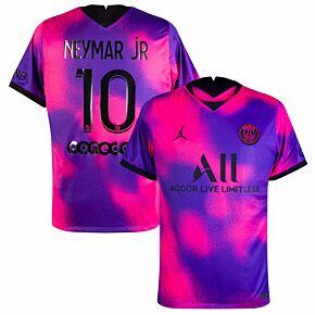 2021 PSG 4th Shirt + Neymar Jr 10