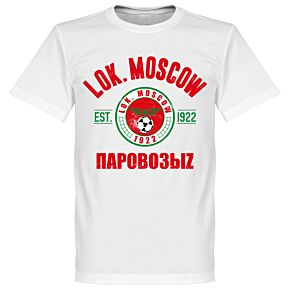 Lokomotive Moscow Established Tee - White