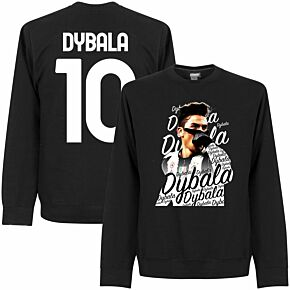 Dybala 10 Celebration Sweatshirt - Black