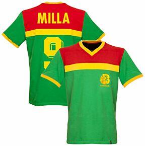 1989 Cameroon Retro Shirt + Milla 9