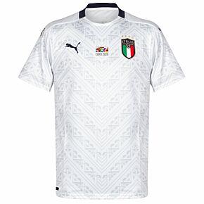 20-21 Italy Away Shirt + 2020 Transfer
