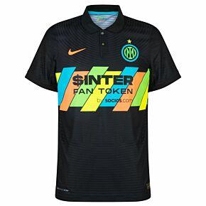 21-22 Inter Milan Dri-Fit ADV Match 3rd Shirt