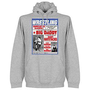 Wrestling Hoodie - Grey