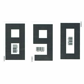 18-19 Germany Home KIDS Front Numbers (80mm)