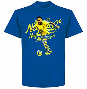 Neymar Script KIDS T-shirt - Royal Blue