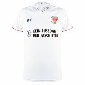 21-22 FC St Pauli Away Womens Shirt - Anti-Fascist Ltd Edition