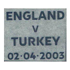 France v England 23.03.2008Matchday Transfer (EnglandAway)