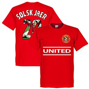 United Solskjaer 20 Gallery Team Tee - Red