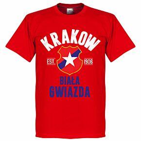 Wisla Krakow Established Tee - Red