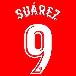 Suárez 9 (Official Printing) - 20-21 Atletico Madrid Home
