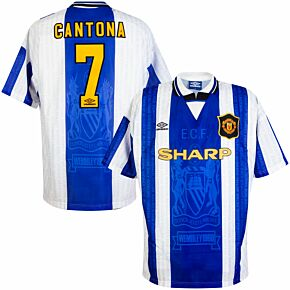 Umbro Manchester United 1994-1996 3rd Cantona 7 Shirt - NEW (w/tags) - Size XL