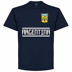 Argentina Team Tee - Navy