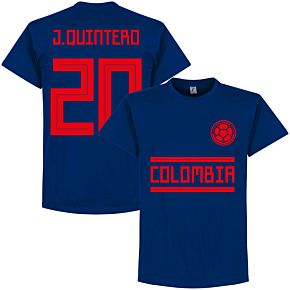 Colombia J. Quintero 20 Team Tee - Ultra