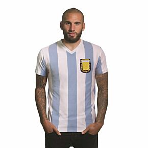 Copa Argentina Home V-neck T-shirt