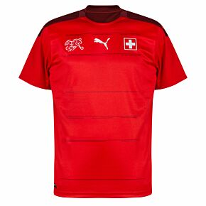 20-21 Switzerland Home Shirt