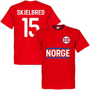 Norway Team Skjelbred Tee - Red