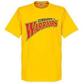 Zimbabwe Warriors Tee - Yellow