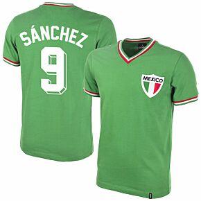 Copa Mexico Home Sanchez 9 Retro Shirt 198