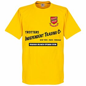Peckham Rovers Panama Independent Trading Tee - Yellow