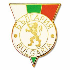 Bulgaria Enamel Pin Badge