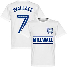 Millwall Wallace 7 Team Tee - White