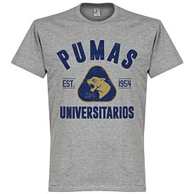 Pumas Established Tee - Grey Marble