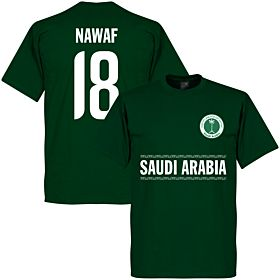 Saudi Arabia Nawaf 18 Team Tee - Green