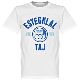 Esteghlal Established Tee - White