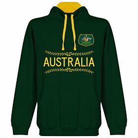 Australia Hoodie - Forest/Gold