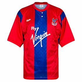 Bukta Crystal Palace 1990-1991 Home Shirt - USED Condition (Good) - Size L