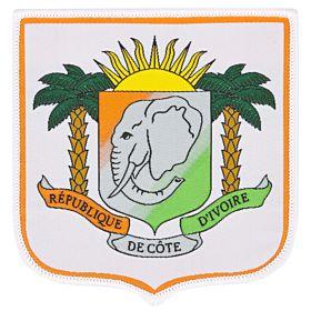 Ivory Coast Embroidery Patch 9cm x 8.5cm