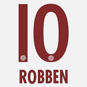 Robben 10 - Bayern Munich Away 2014 / 2015 KIDS Official Name & Number
