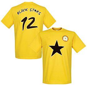 Ghana Black Stars Tee - Yellow