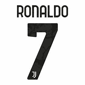 Ronaldo 7 (Official Club Printing) - 20-21 Juventus Home