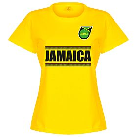 Jamaica Team Womens Tee - Yellow