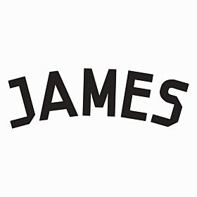 James (Name Only) - Real Madrid Home Official Name 2014 / 2015