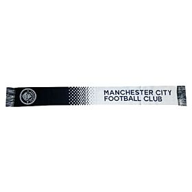 Manchester City Fade Scarf - Sky/Navy