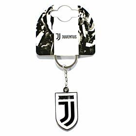Juventus Crest Keyring - New Crest