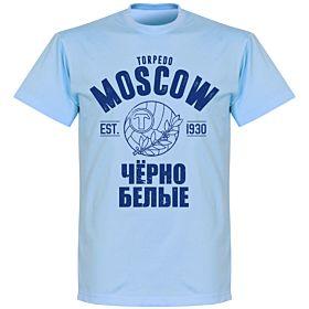Torpedo Moscow Established T-shirt - Sky Blue