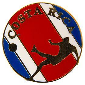 Costa Rica Enamel Pin Badge