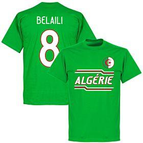 Algeria Belaili 8 Team T-Shirt - Green