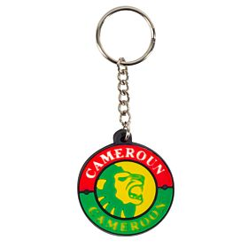 Cameroon Rubber Keyrings