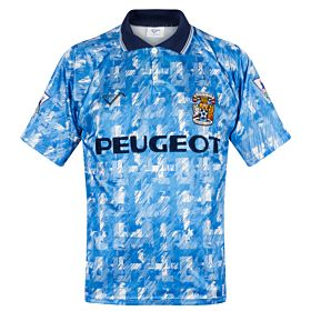 Ribero Coventry City 1992-1994 Home Shirt - USED Condition (Excellent) - Size M - PREMIER LEAGUE PATCHES