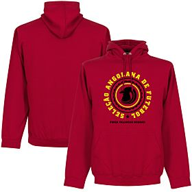 Angola Crest Hoodie - Red
