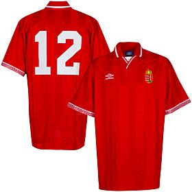 Umbro Hungary 1992-1994 Home Jersey - NEW (Original Packaging) - Size L - Player Issue No.12