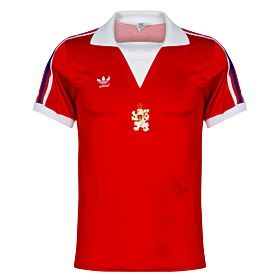 adidas Czechoslovakia 1980-1981 Home Jersey - USED Condition (Great) - Size Medium