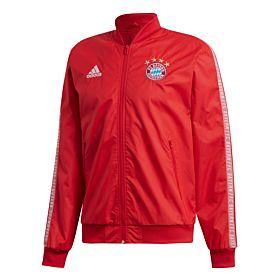 Adidas Bayern Munich Anthem Jacket - Red 2019-2020